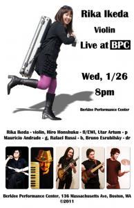Rika Ikeda Group at BPC