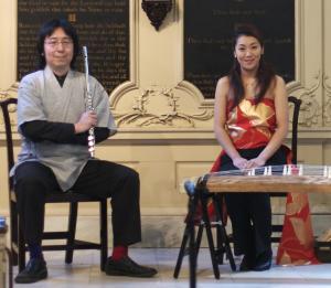 Hiro Honshuku and Sumie Kaneko