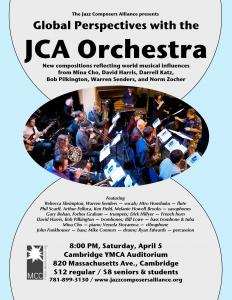 JCA Orchestra at YMCA Theater 4/5