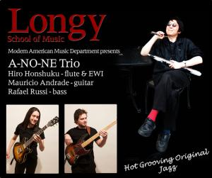 Hiro Honshuku and the A-NO-NE Trio at Longy