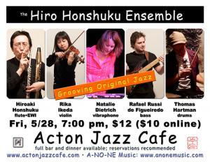 Hiro Honshuku Ensemble at Acton Jazz Cafe