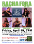 Racha Fora Dinner Show at Acton Jazz Cafe, Fri, April 19
