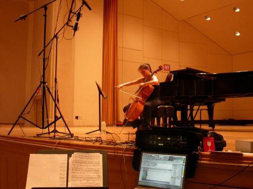 Sarah Recording Session at Harvard